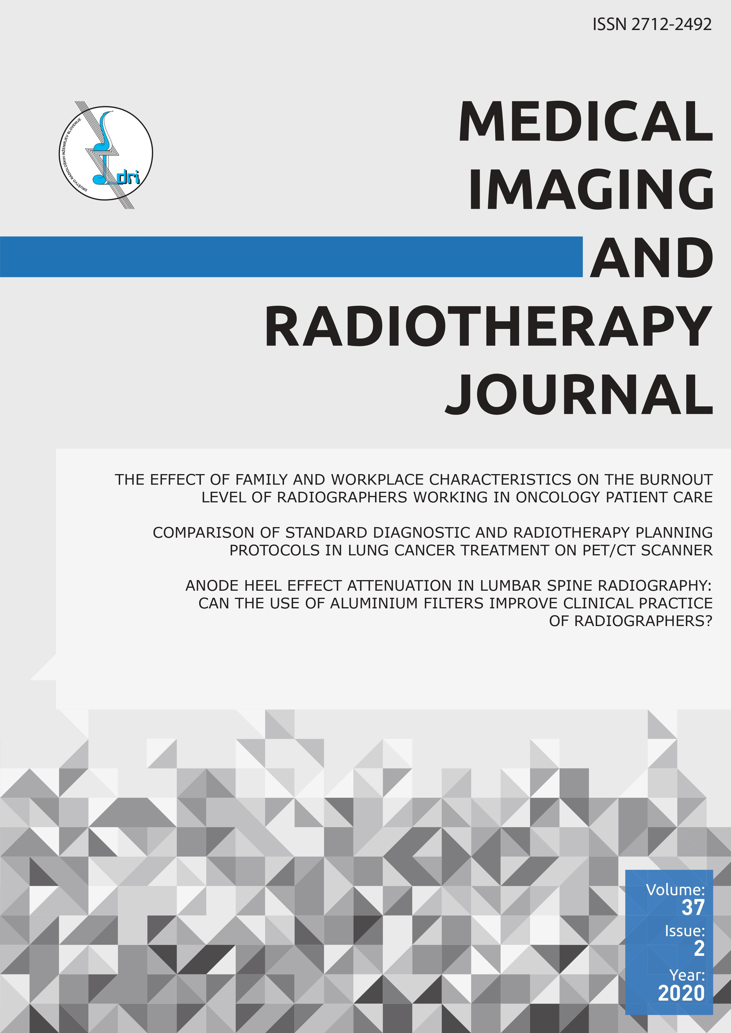 MIRTJ: volume 37, issue 2, year 2020 - MEDICAL IMAGING AND RADIOTHERAPY JOURNAL